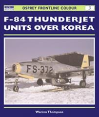 F-84 Thunderjet Units Over Korea