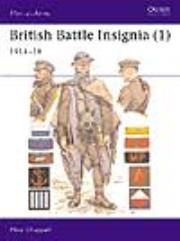 British Battle Insignia (1) - 1914-18
