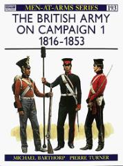 British Army on Campaign, The (1) - 1816-1853