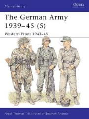 German Army 1939-45, The (5) - Western Front 1943-45