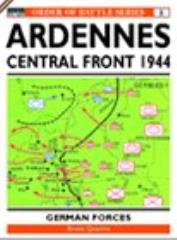 Ardennes Offensive, The - V Panzer Armee and Central Sector