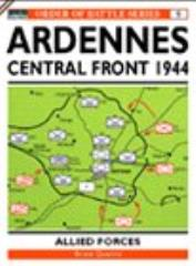 Ardennes Offensive, The - US VII & VIII Corps, British XXX Corps & Central Sector