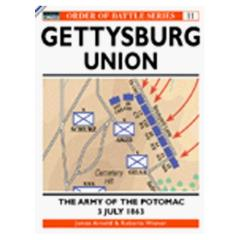 Gettysburg July 3, 1863 - Union - The Army of the Potomac