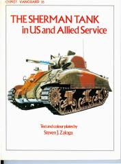 Sherman Tank in US and Allied Service, The