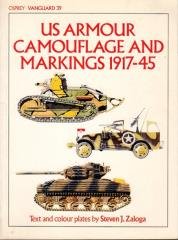 US Armour Camouflage and Markings, 1917-45