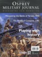 Osprey Military Journal Supplement - Wargaming and Modeling