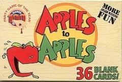 Blank Apples to Apples Cards (36)