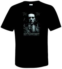 H.P. Lovecraft Portrait T-Shirt (XXL)