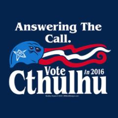 Vote Cthulhu T-Shirt (XL)