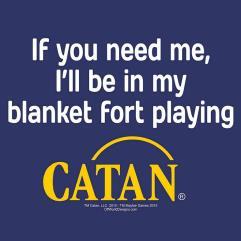 Catan Blanket Fort T-Shirt (L)