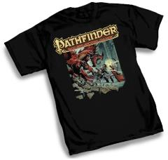 Pathfinder Core Rulebook T-Shirt (L)