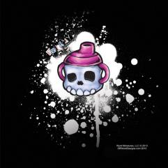 Evil Baby Sippy T-Shirt (L)