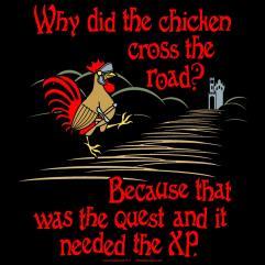 Chicken Cross The Road (2XL)