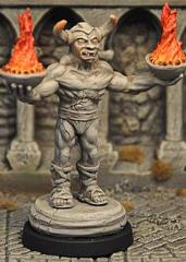 Demon Statue II (Inanimate)