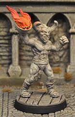 Demon Statue III (Animated)