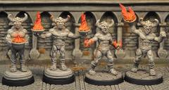 Demon Statue Set