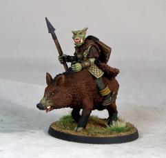 Pig-Faced Orc Boar-Rider I
