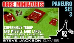 Paneuro Set #3 - Superheavy Troop and Missile Tank Lance
