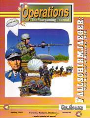 "#40 ""Fallschirmjaeger, Champion Hill, Yom Kippur Variants"""
