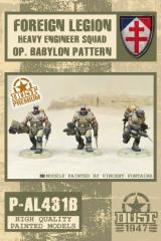 Desert Scorpions Heavy Engineer Squad - Babylon Pattern