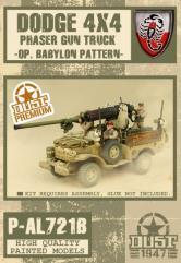 Dodge Phaser Gun Truck - Babylon Pattern