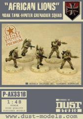 African Lions NDAK Tank-Hunter Grenadier Squad