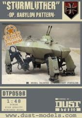Schwer-Panzer Kampflaufer VI-D - Sturmluther, Babylon Pattern (Premium Edition)