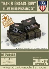 Allied Weapon Crates - Bar & Grease Gun