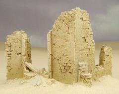 Middle East Ruined House Corner - Babylon Pattern