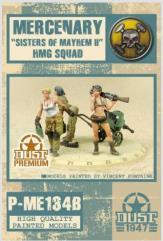 "Mercenary ""Sisters of Mayhem II"" HMG Squad"