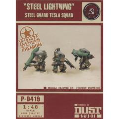 Steel Guard Tesla Squad - Steel Lightning