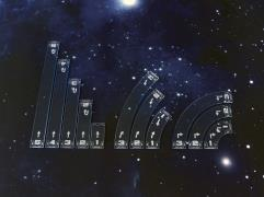 Space Fighter - Move Templates - Blue