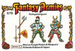 Warrior Knight Riders w/Weapon Moulds