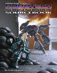 Robotech - The New Generation Sourcebook