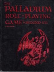 Palladium Role Playing Game (2nd Edition, Limited Edition)