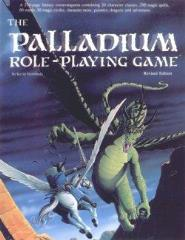 Palladium Role Playing Game (1st Edition Blue, Revised)