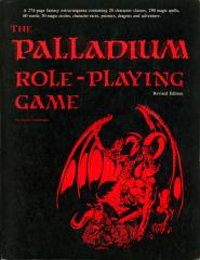 Palladium Role Playing Game (1st Edition Red, Revised)