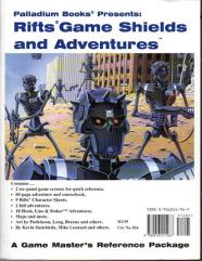 Game Master's Screen, Magic & Psionics Screen and Adventure Book