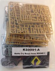 Battle Cry Bonus Items (Round 1, Kickstarter Exclusive)