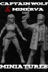 Captain Wolf & Minerva