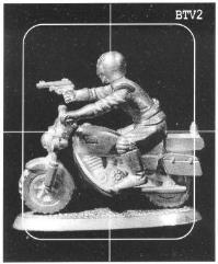 Police Patrolman on Heavy Bike