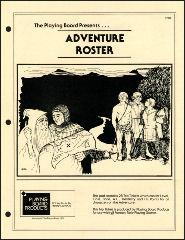 Adventure Roster