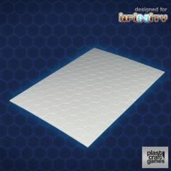 Hexagonal Textured PVC Sheet - 2mm