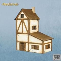 Two-Story Medieval House
