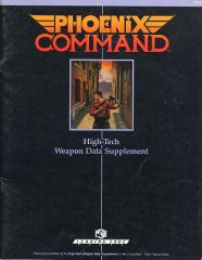 High Tech Weapon Data Supplement