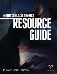 Night's Black Agents - Director's Screen & Resource Guide
