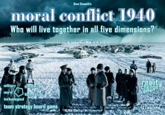 Moral Conflict 1940 - Who Will Live Together in all Five Dimensions?