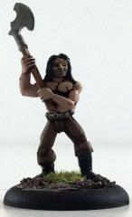 Barbarian Adventurer, Pre-Painted (Limited Edition)