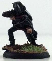 Hooded Elf Assassin w/Whip, Pre-Painted (Limited Edition)