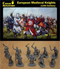 European Medieval Knights - 13th Century